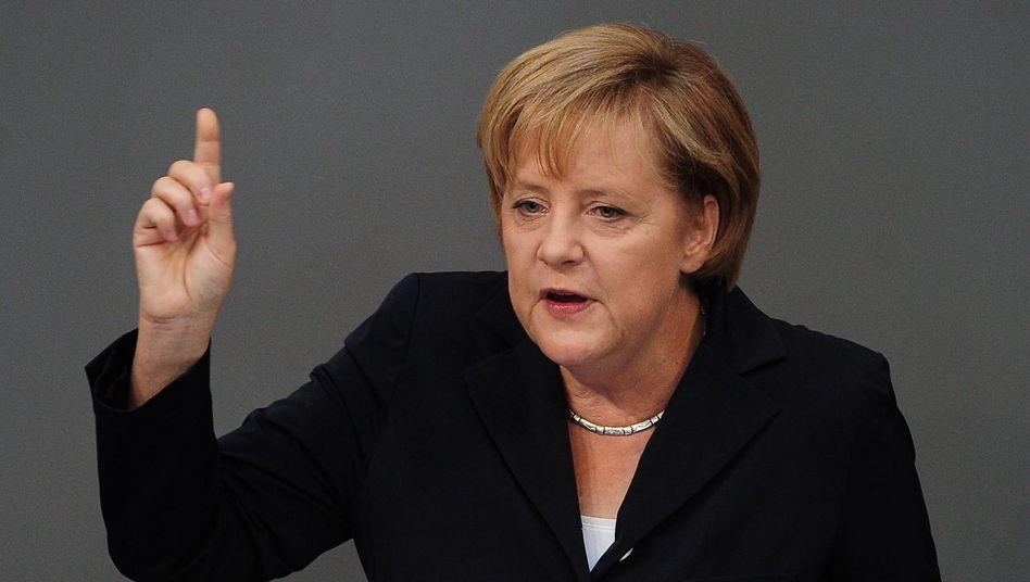 """Bundeskanzlerin Merkel: """"Wir haben Grund zur Zuversicht"""""""