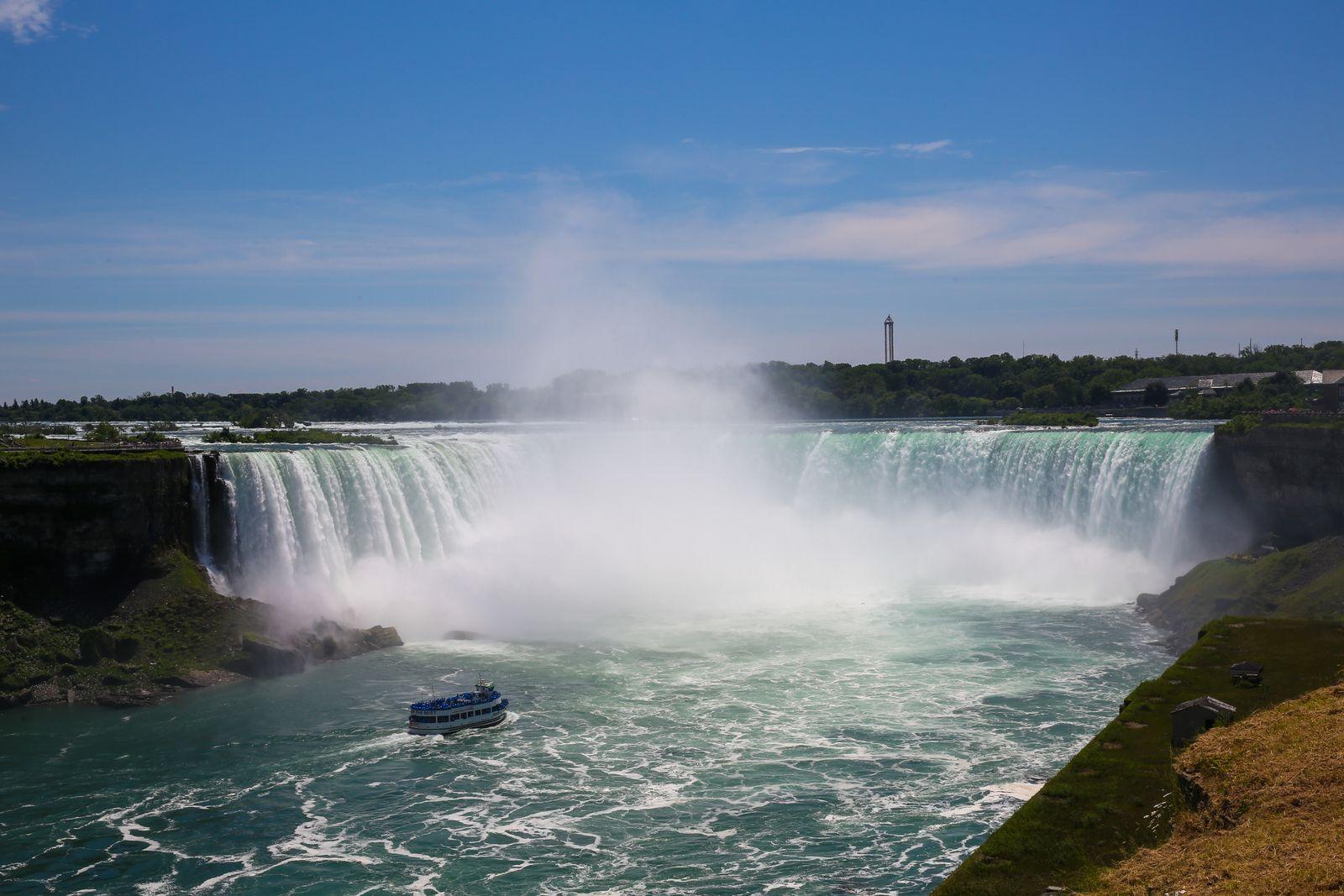 EINMALIGE VERWENDUNG Niagara Fälle