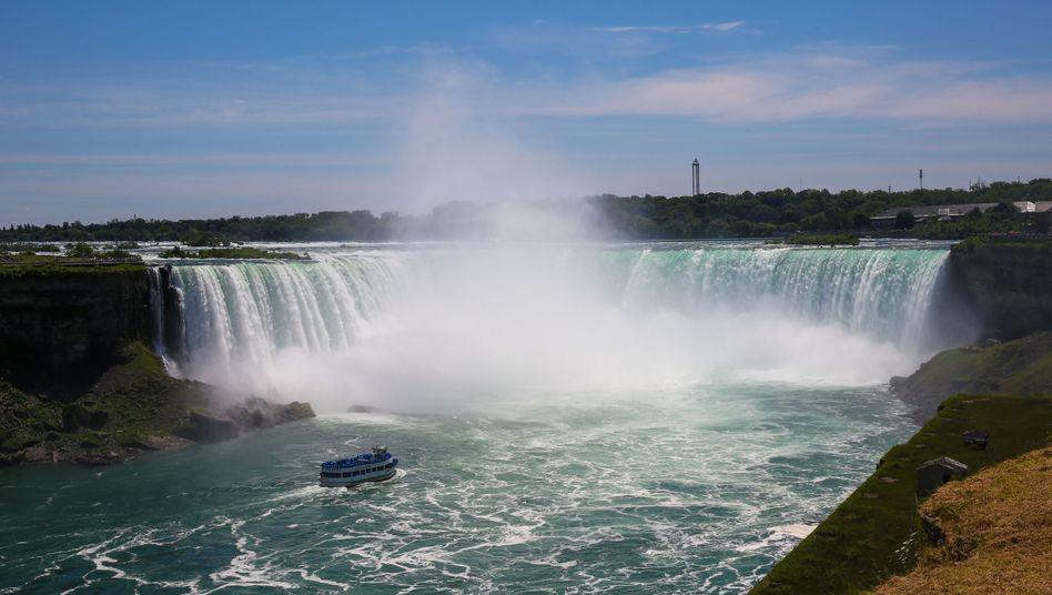 Am Horseshoe-Wasserfall stürzt das Wasser 57 Meter in die Tiefe