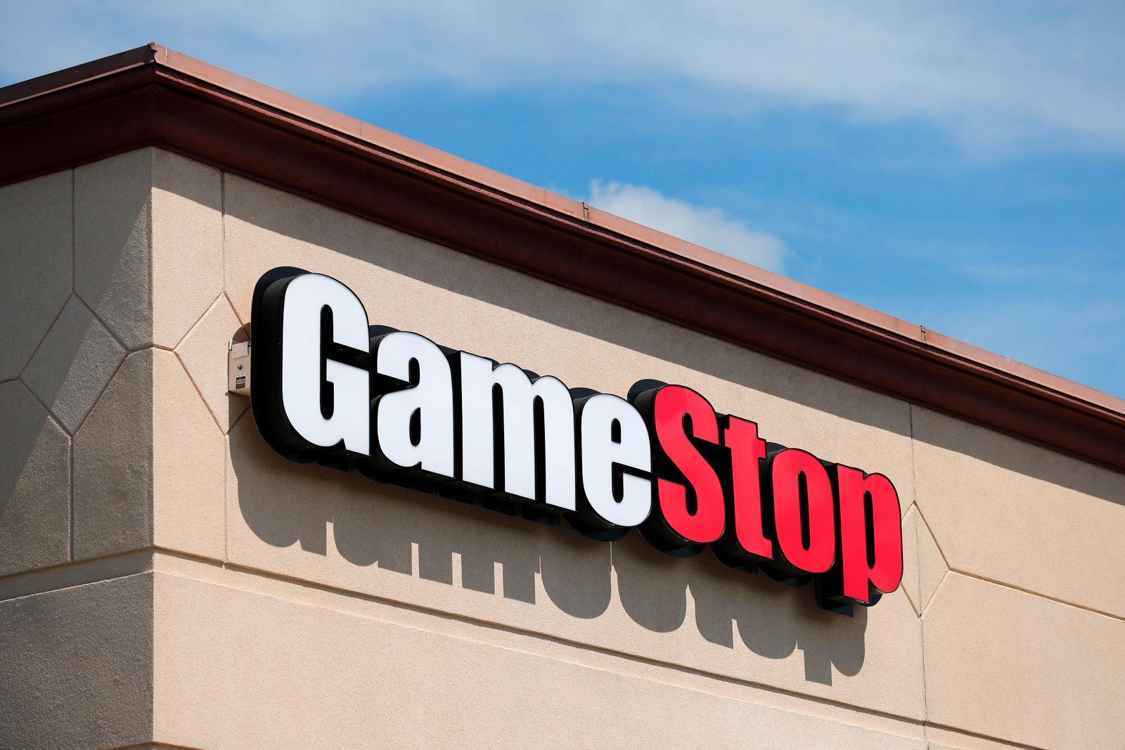 Computerspiel-Händler Gamestop