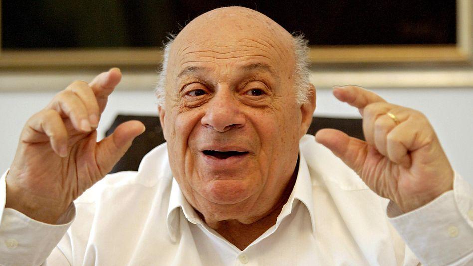Denktasch im April 2004: Der Politiker amtierte 20 Jahre lang als Präsident Nordzyperns