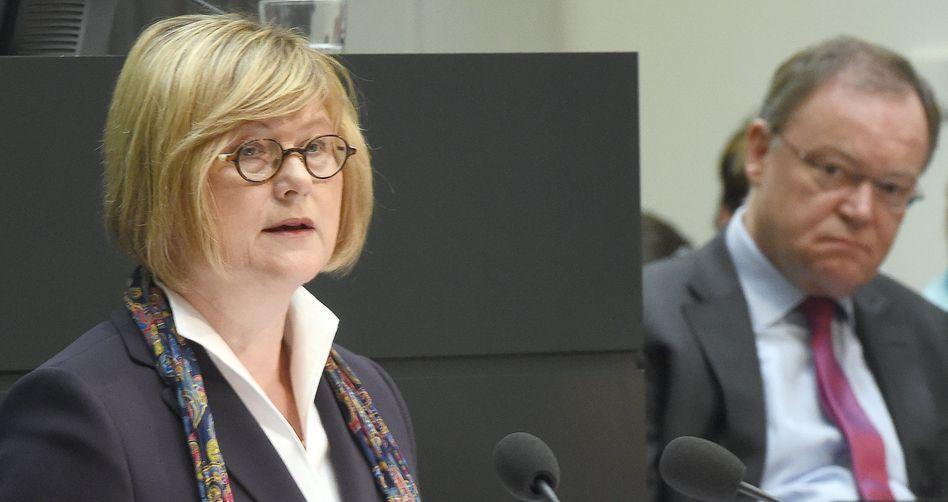 Niedersachsens Justizministerin Niewisch-Lennartz: Ermittlungen gegen die Justiz