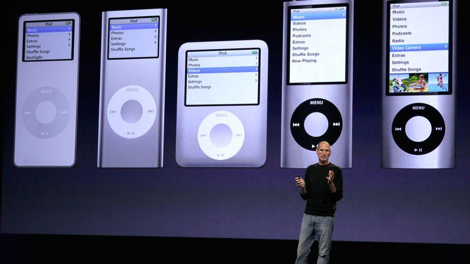 Apple-Chef Steve Jobs, iPod-Modelle: Vorsätzlich Patente missachtet?