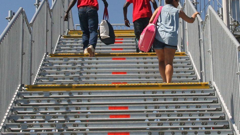 Kofferträger in Schwäbisch Gmünd: 1,05 Euro Stundenlohn für Asylbewerber