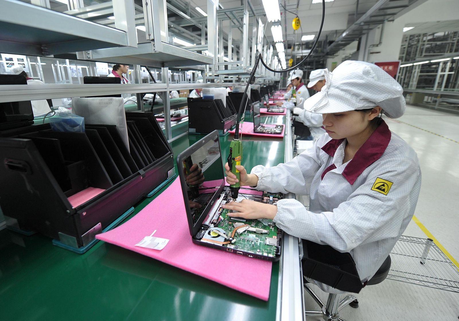 EINMALIGE VERWENDUNG Notebook production Dell