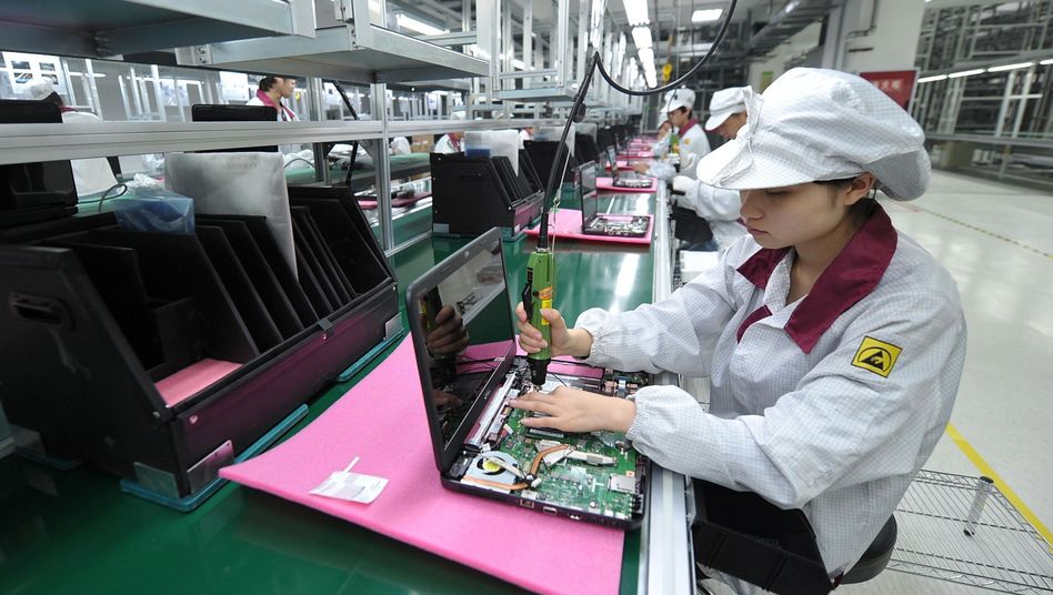 Notebook-Produktion in China
