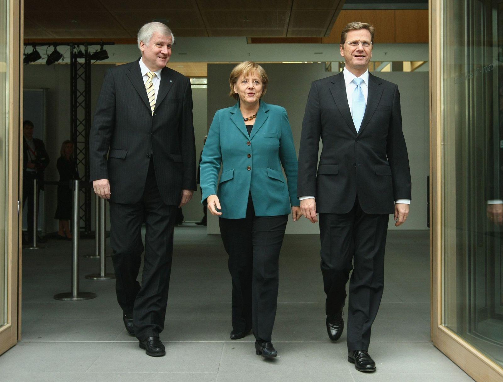 Koalition / Verhandlungen