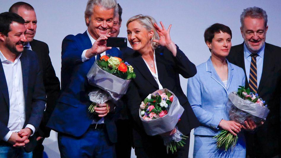 Geert Wilders und Marine Le Pen - ab jetzt stärker unter Arte-Beobachtung