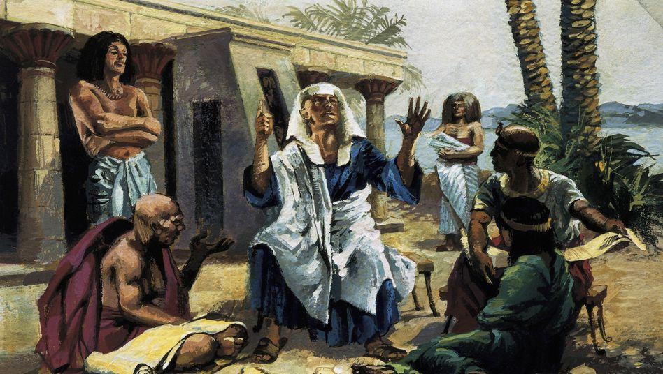 Mediziner im Alten Ägypten: Ansteckende Krankheiten verbreiteten Angst und Schrecken