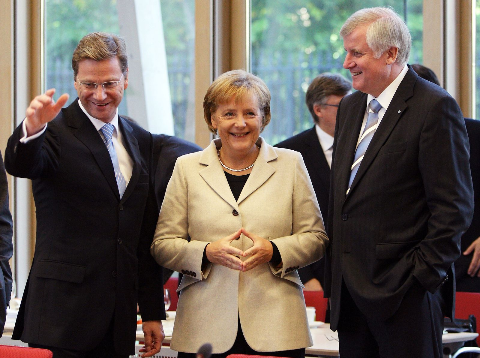 Merkel Seehofer Westerwelle