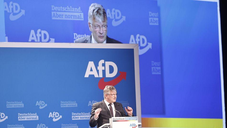AfD-Co-Chef Jörg Meuthen in Dresden: Diesmal keine intere Kritik