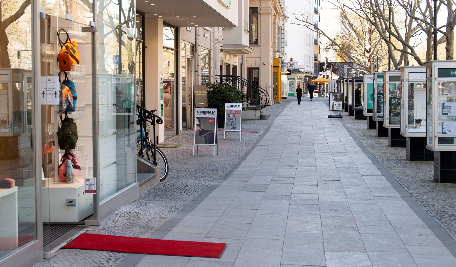 Coronavirus - Geschäfte in Berlin öffnen wieder