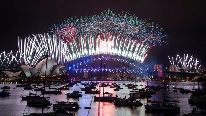 2021 beginnt: Die Bilder zum Jahreswechsel
