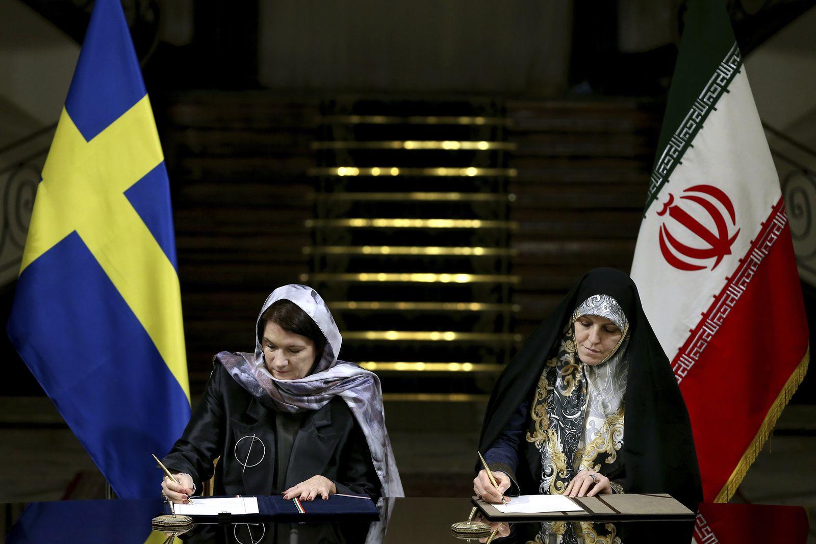 Iran Sweden