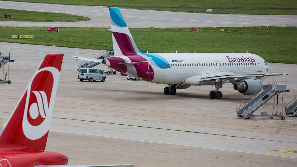 AirbusA320 von Eurowings (Archivbild): Falsche Interpretation, peinlicher Fehler