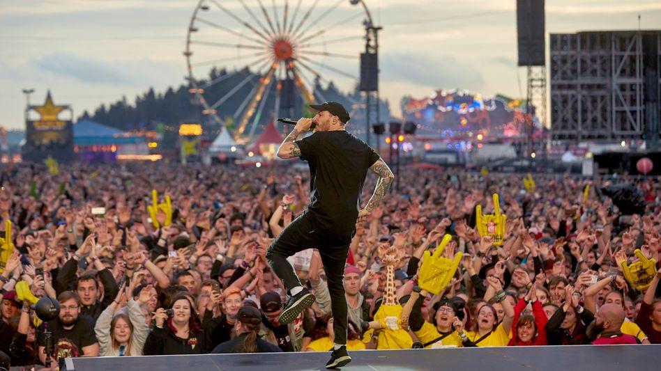 Rapper Casper bei »Rock am Ring« 2018: »Festivalshows sind oft nicht das Resultat einer Karriere, sondern Teil ihres Beginns«