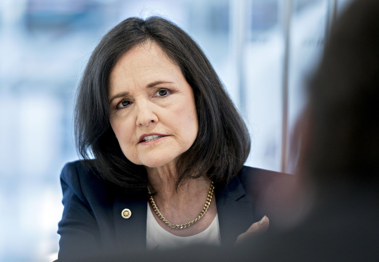 European Bank For Reconstruction And Development U.S. Executive Director Judy Shelton Interview