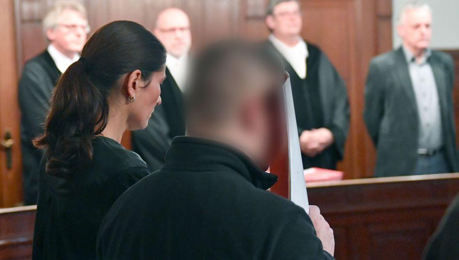 Angeklagter S. vor Gericht (Archiv)