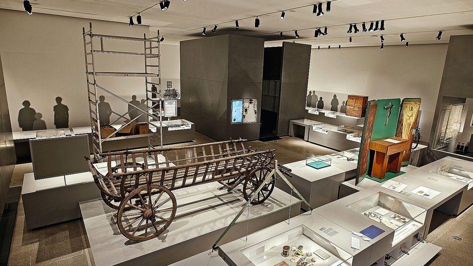 Dauerausstellung im neuen Dokumentationszentrum in Berlin