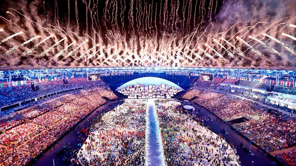 Olympia 2016 Die Highlights Der Eroffnungsfeier Der Spiegel