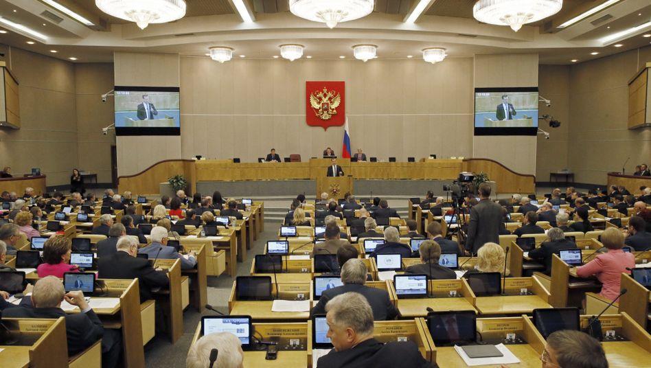 Russische Duma: Vergeltungsmaßnahme gegen Europarat