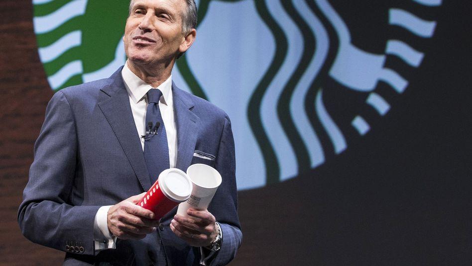 Starbucks-Chef Howard Schultz