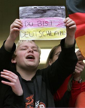 Duisburger Schüler (bei einem Besuch des Bundespräsidenten): Deutschland auf dem Prüfstand