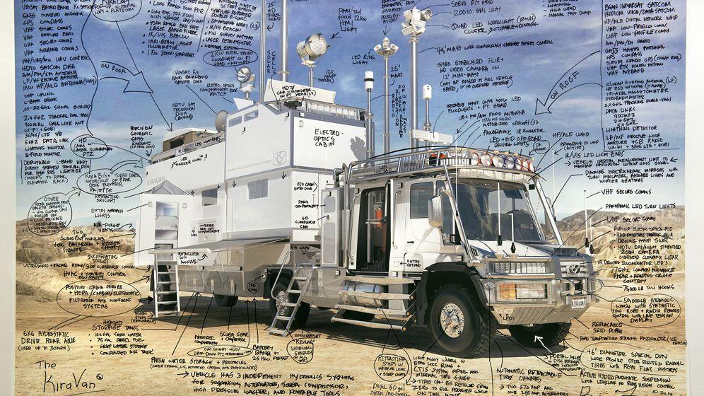 Supertruck für eine Vierjährige: Der 23-Tonnen-Kinderwagen