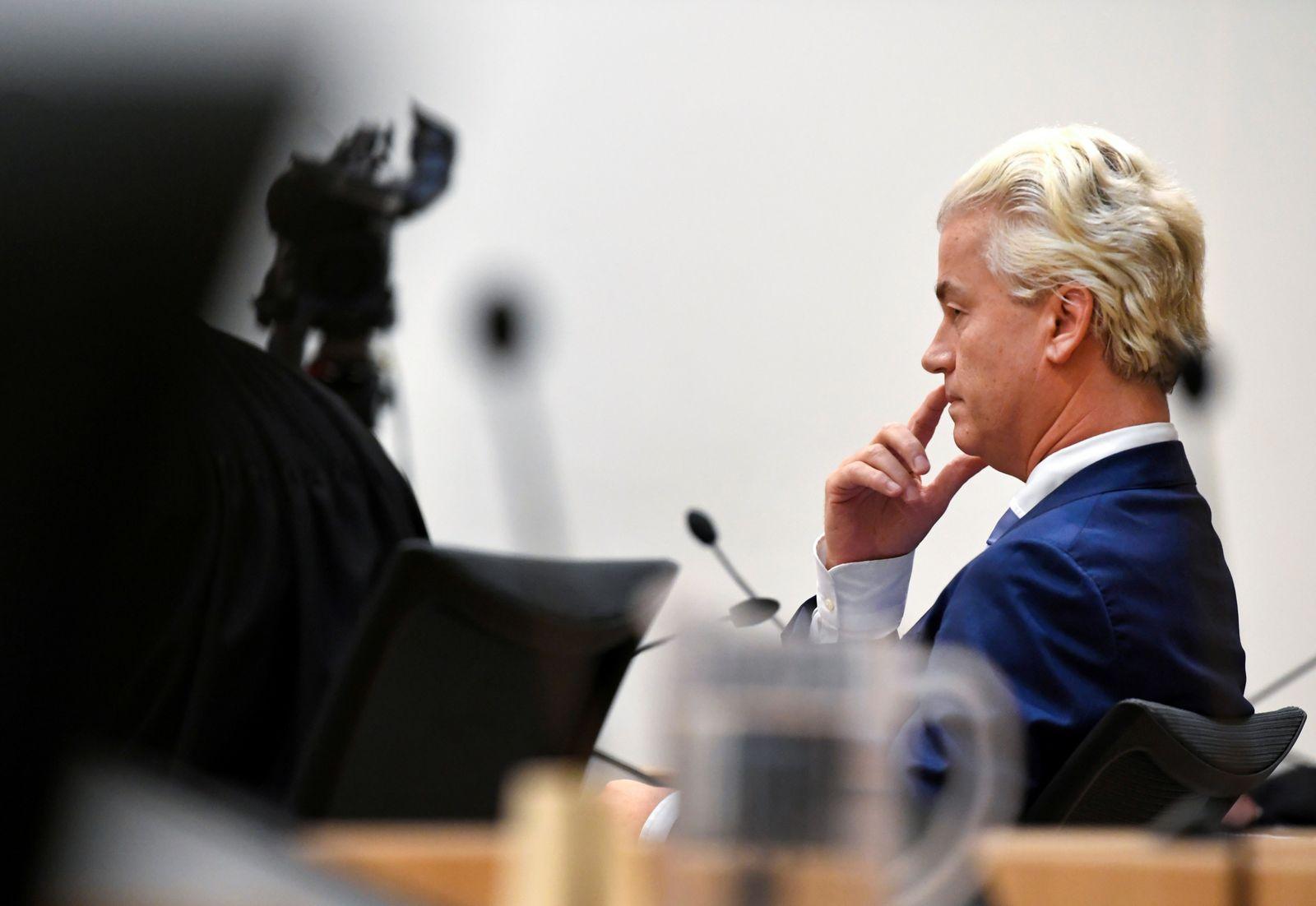Verdict in Dutch politician Wilders' appeal against discrimination conviction