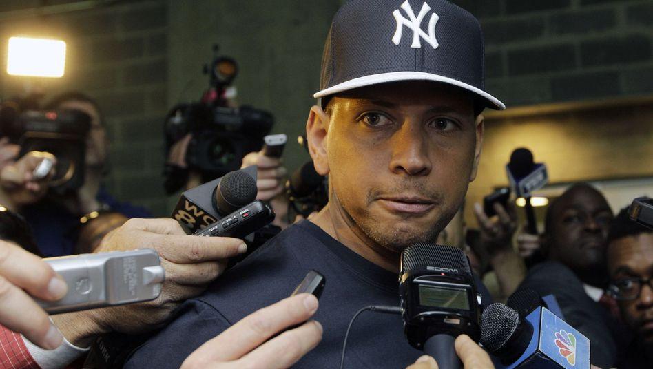 Yankees-Star Rodriguez: Bestreitet Doping bei den Yankees