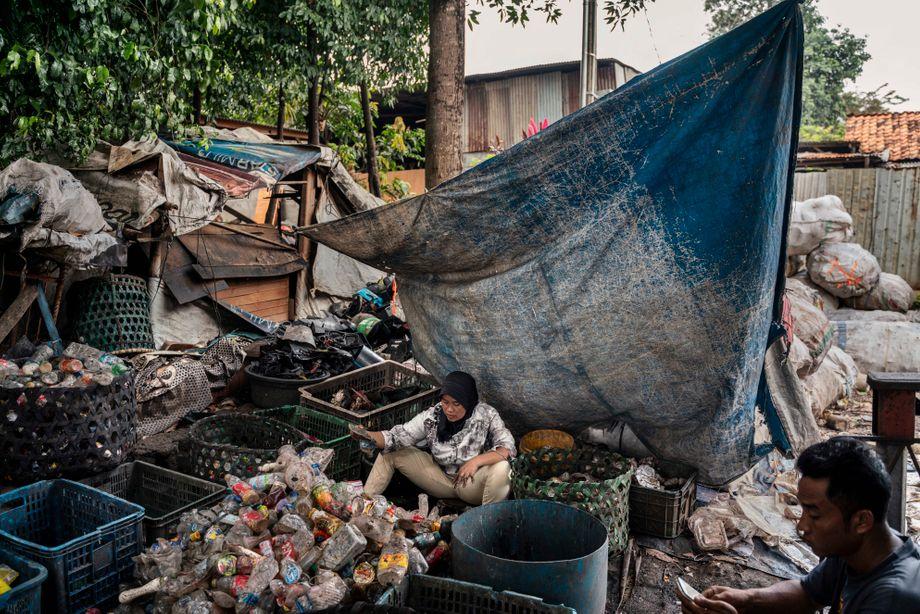 Die Menschen sind vom Müll abhängig - sie verdienen ihren Lebensunterhalt damit