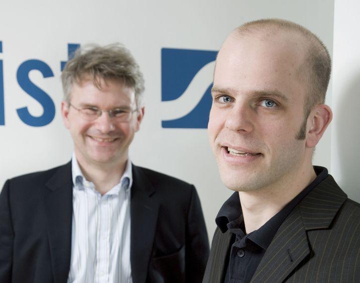 Statista-Chefs Gründer und Kröger: Viel Handarbeit
