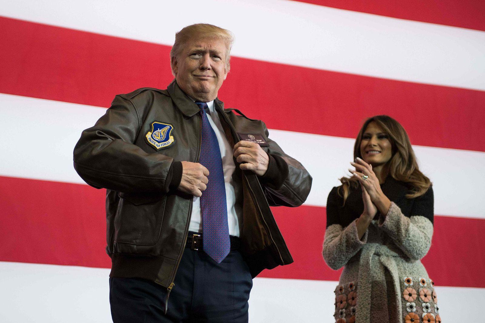 Trump/ Yokota Air Base