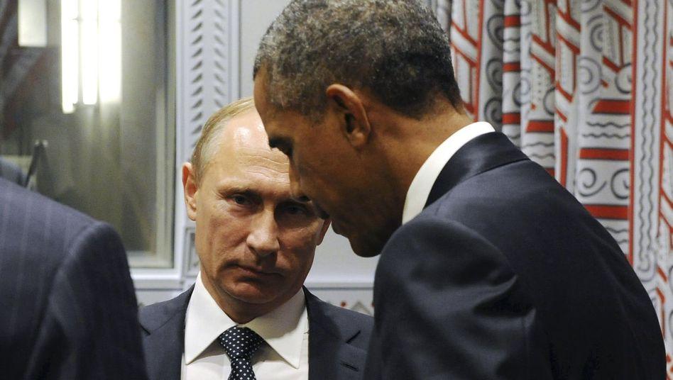 ObamaundPutin beim Uno-Gipfel: Sie reden - und die Welt schöpft Hoffnung