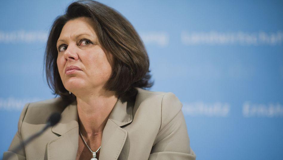 Bundesagrarministerin Aigner: Wenig schmeichelhafte Auszeichnung