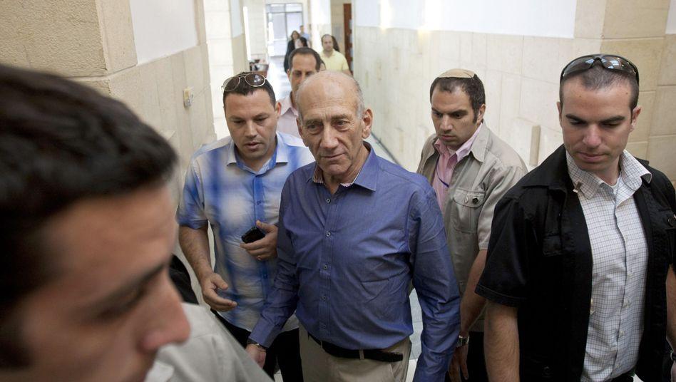 Korruptionsprozess: Sechs Jahre Haft für Israels Ex-Regierungschef Olmert