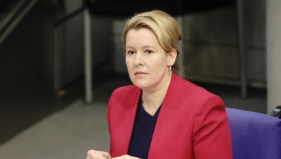 Bundesfrauenministerin Franziska Giffey