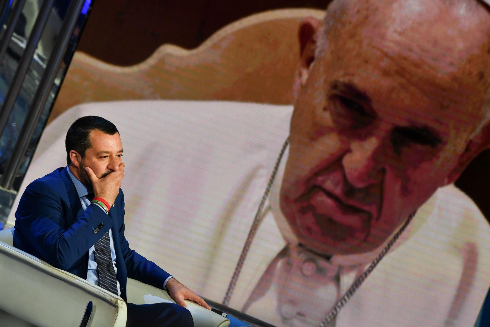 Matteo Salvini/ Papst