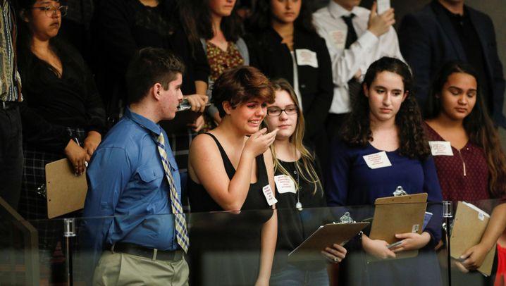 Florida: Tränen im Parlament