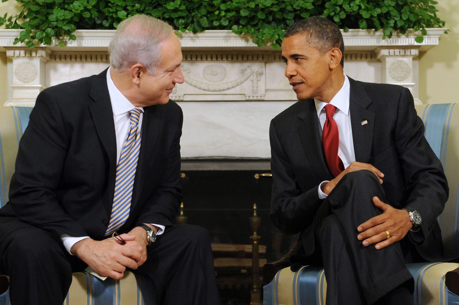Netanjahu Obama