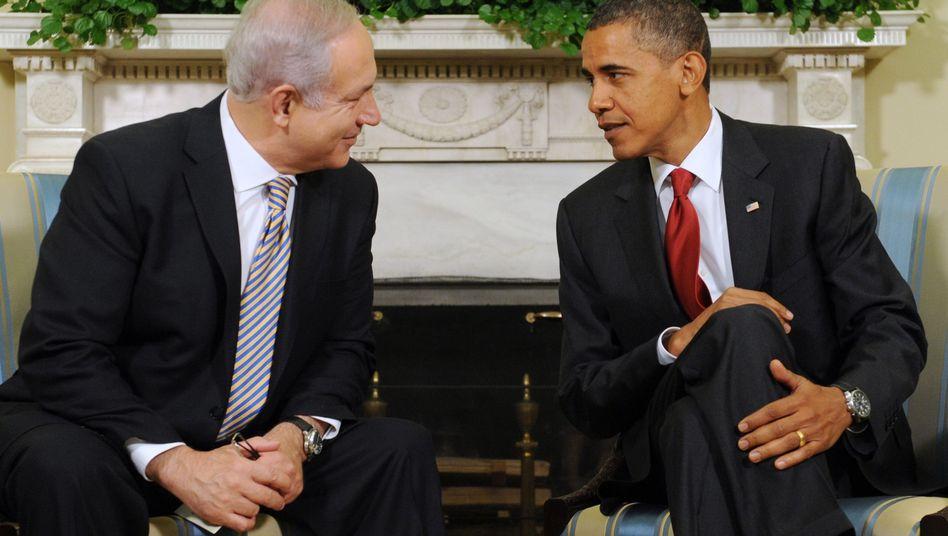 """Netanjahu und US-Präsident Obama: """"Unzerbrechliche Beziehungen"""