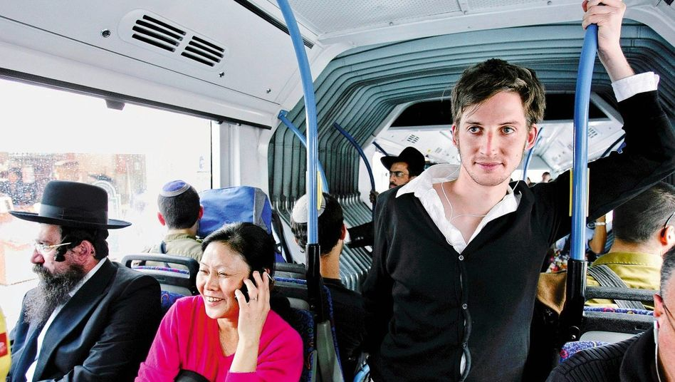 Student Markus in Jerusalem: »Es gibt hier sicher Leute, die nur Urlaub machen wollen«