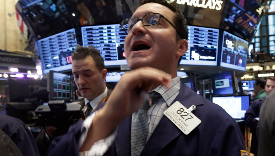 Börsenhändler in New York: Die Investoren sind süchtig nach billigem Geld