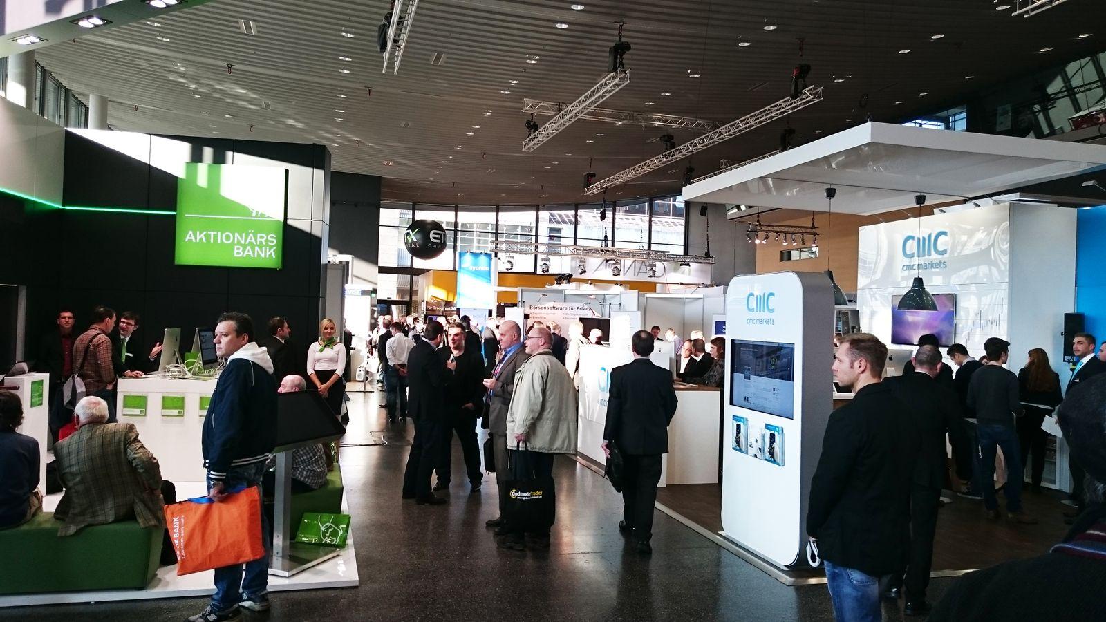 Messe World of Trading in Frankfurt