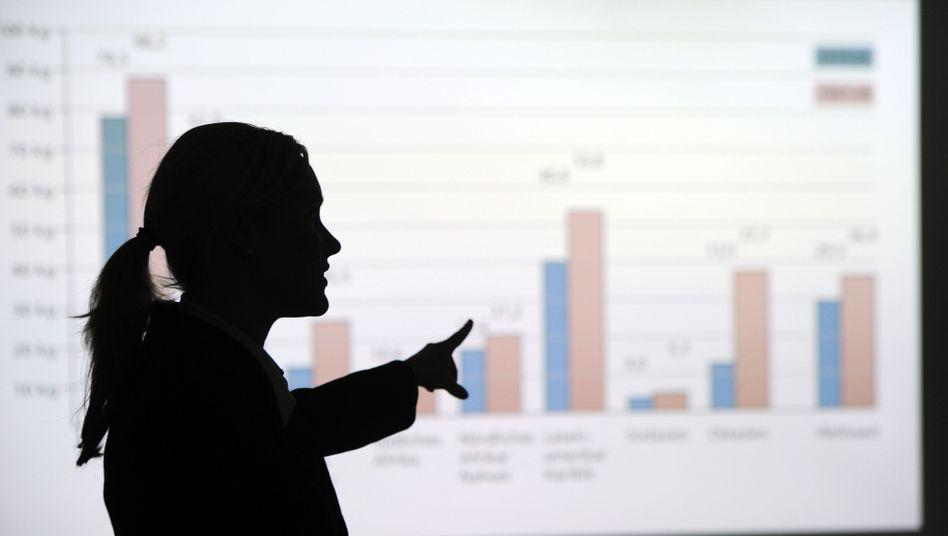 Präsentation im Unternehmen