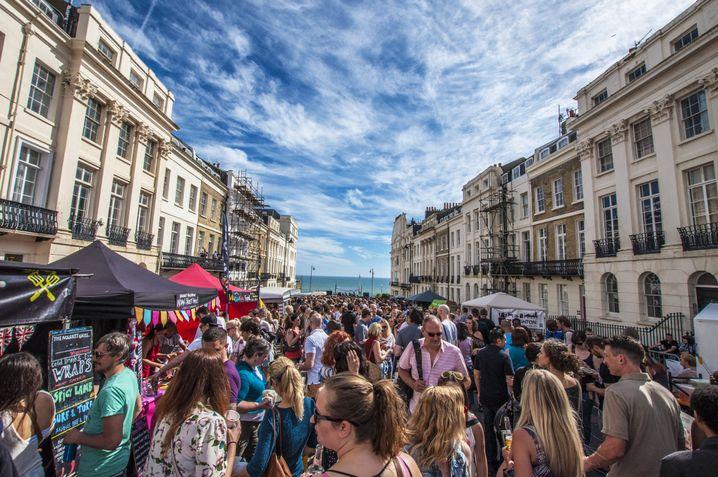 Straßenfest in Brighton
