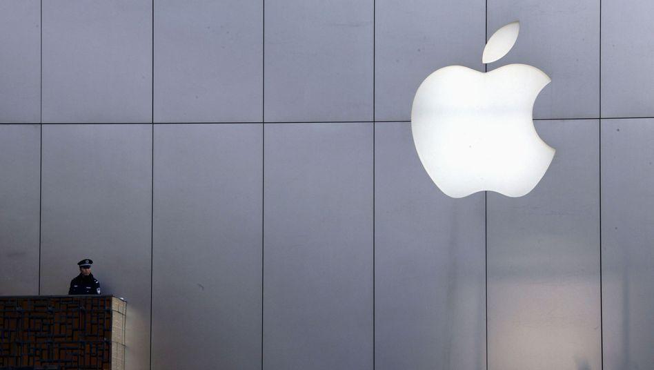 Apple-Logo in Peking: Gute Karten für weitere Patentprozesse