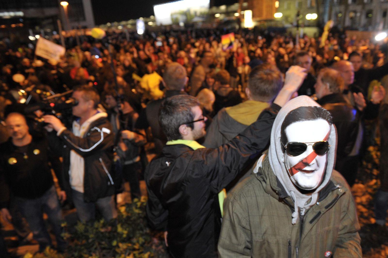 NICHT VERWENDEN Stuttgart 21/ Proteste