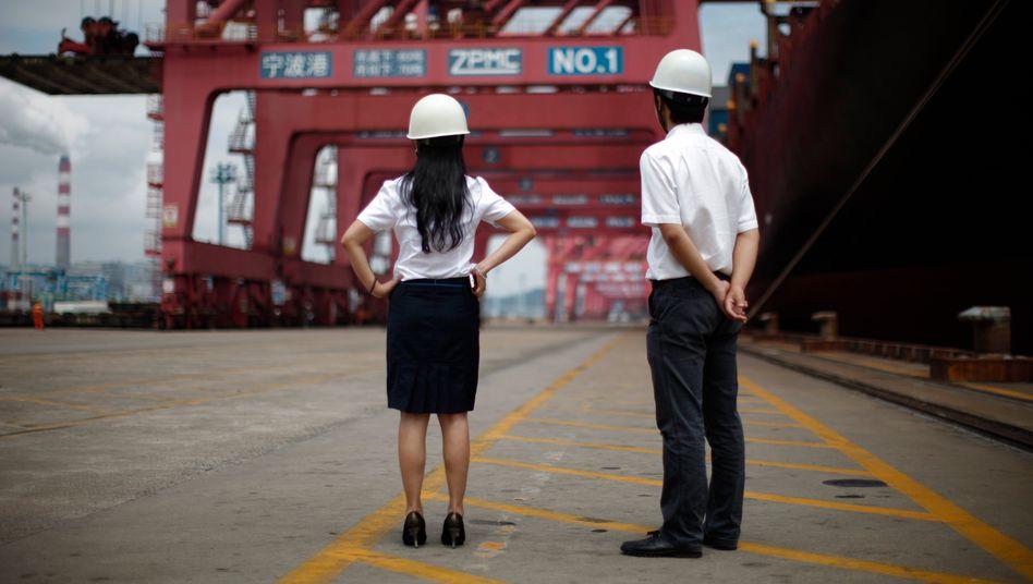 Die chinesische Wirtschaft konnte ihre Exporte vor allem durch Produkte steigern, die in der Corona-Pandemie gefragt sind