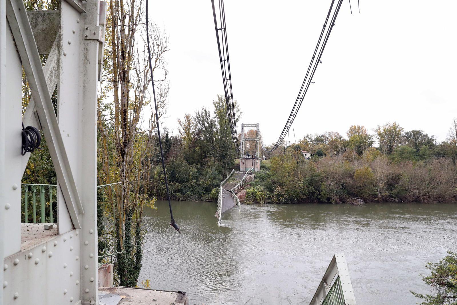Brückeneinsturz in Toulouse